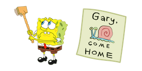 SpongeBob Gary Come Home Cursor