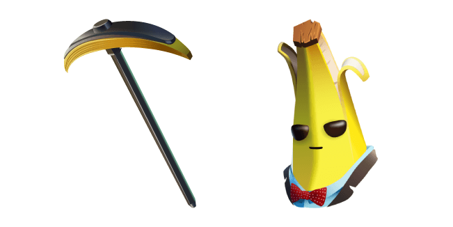 Fortnite Agent Peely Skin Bananaxe Pickaxe