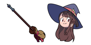 Курсор Little Witch Academia Akko