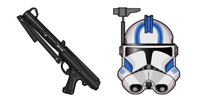 Star Wars CT-1409 Echo DC-15S Blaster Carbine