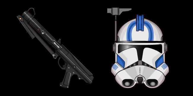 Star Wars CT-1409 Echo DC-15S Blaster Carbine