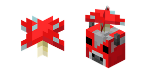 Minecraft Red Mushroom and Mooshroom Cursor