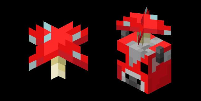 Minecraft Red Mushroom and Mooshroom
