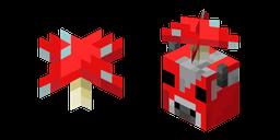Minecraft Red Mushroom and Mooshroom Cursor