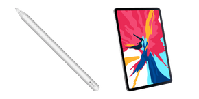 Apple Pencil and iPad Pro Curseur