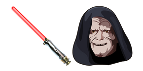 Star Wars Sheev Palpatine Lightsaber Curseur