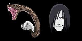 Курсор Naruto Orochimaru
