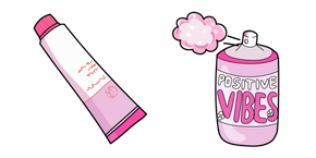 VSCO Girl Hand Cream and Perfume Cursor