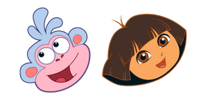 Dora the Explorer Dora and Boots Cursor