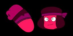 Steven Universe Ruby Curseur