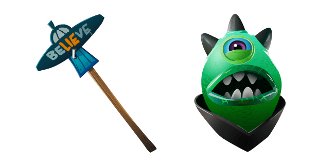 Fortnite Zorgoton Skin Flying Slasher Pickaxe