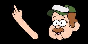 Gravity Falls Tyler Cutebiker Cursor