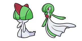 Курсор Pokemon Ralts and Gardevoir