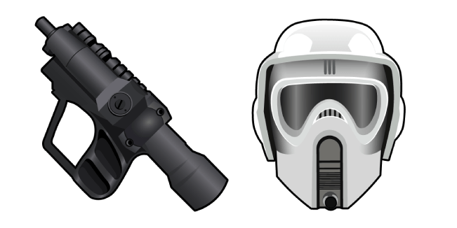 Star Wars Scout Trooper EC-17 Hold-Out Blaster