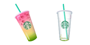 Starbucks Rainbow Drink Cursor
