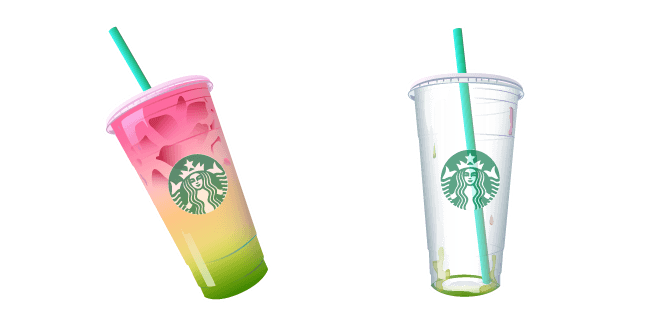 Starbucks Rainbow Drink