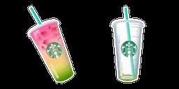 Starbucks Rainbow Drink Cursor
