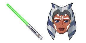 Курсор Star Wars Ahsoka Tano Lightsaber
