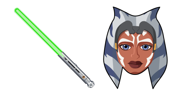 Star Wars Ahsoka Tano Lightsaber