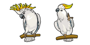 Sulphur-Crested Cockatoo Cursor