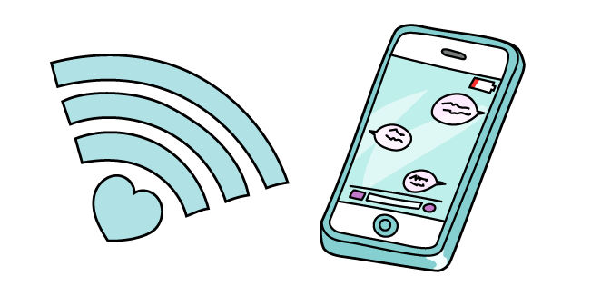 VSCO Girl Wi-Fi and Phone