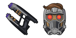 Star-Lord Quad Blaster Cursor
