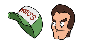 Bob's Burgers Jimmy Pesto and Cap Cursor