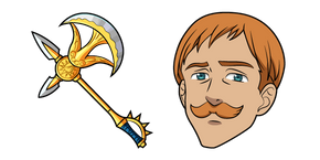 The Seven Deadly Sins Escanor Divine Axe Rhitta Cursor
