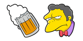 The Simpsons Moe Szyslak Curseur
