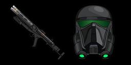 Star Wars Death Trooper E-11D Blaster Carbine Cursor