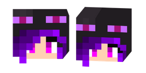 Minecraft Enderman Girl Cursor
