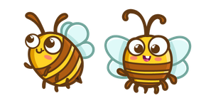 Cute Bee Cursor