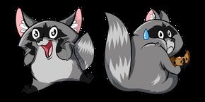 Funny Raccoon Curseur