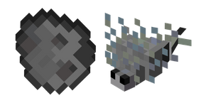 Minecraft Spawn Egg and Silverfish Cursor