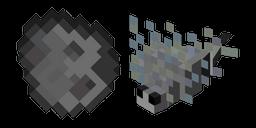 Minecraft Spawn Egg and Silverfish Cursor
