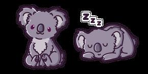 Cute Koala Cursor