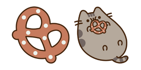 Pusheen and Pretzel Cursor