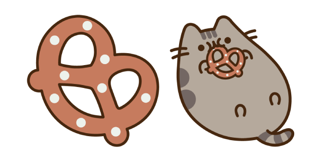 Pusheen and Pretzel