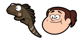Gravity Falls Grenda Grendinator Cursor