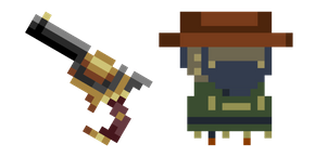 Enter the Gungeon Gunslinger Slinger Cursor