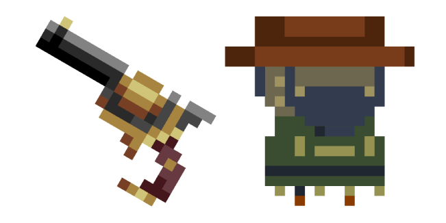 Enter the Gungeon Gunslinger Slinger