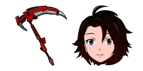 Курсор RWBY Ruby Rose Crescent Rose