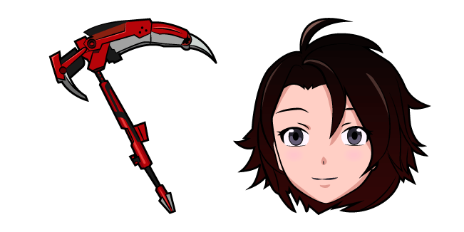 RWBY Ruby Rose Crescent Rose