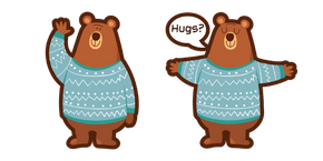Cute Bear Hugs Curseur