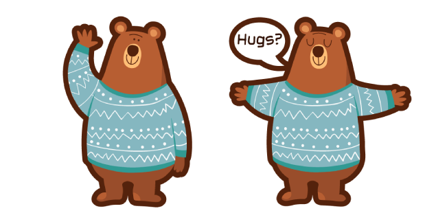 Cute Bear Hugs