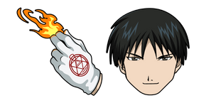 Fullmetal Alchemist Roy Mustang Cursor