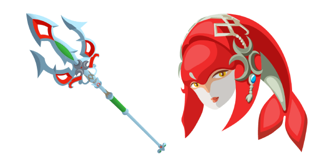 The Legend of Zelda Mipha Lightscale Trident