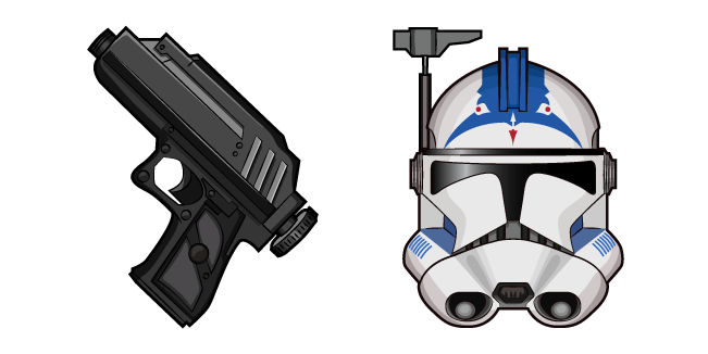 Star Wars CT-5555 Fives DC-17 Hand Blaster
