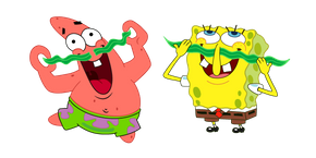 Курсор SpongeBob Now That We're Men