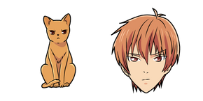 Курсор Fruits Basket Kyo Sohma